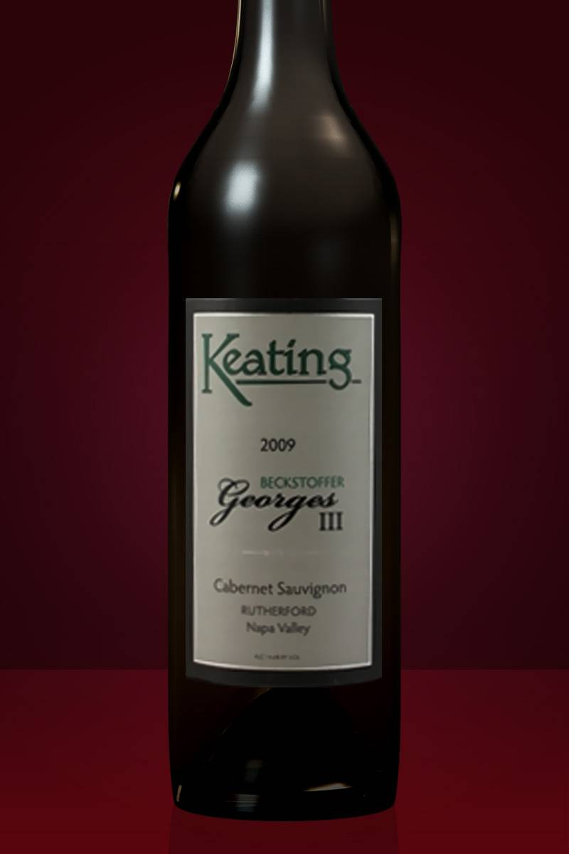 2012 Keating 'Beckstoffer Georges III' Cabernet Sauvignon, Rutherford