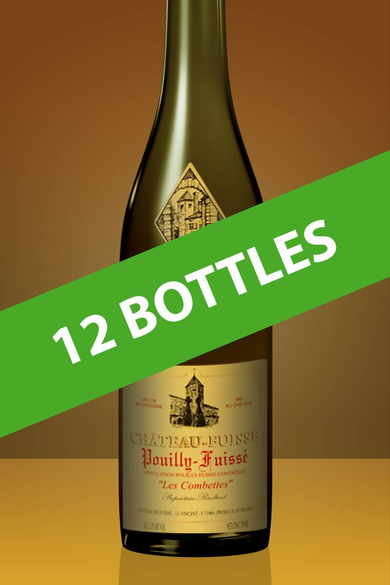Full Case (12 Bottles) of 2010 Chateau Fuisse Pouilly-Fuisse 'Les Combettes'